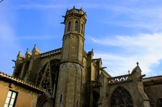 Basilica of St. Nazaire in Carcassonne