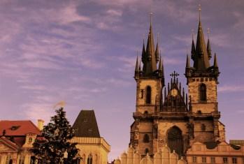 Prague, Czech - Tyn's Church