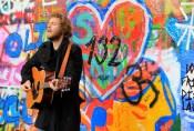 Prague, Czech - John Lennon Wall (he was singing Hey Jude)