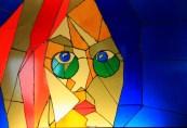 Prague, Czech - Lennon Stained Glass Window