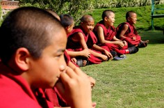 Some Monks Listening to their Teacher