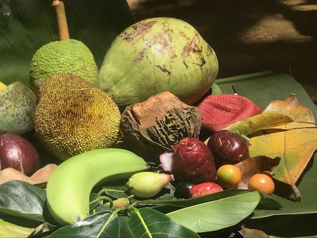 """""""Natureza Morta Tropical Capixaba"""" – fotografia impressa em papel fotográfico, 40 cm x 65 cm, 2019."""