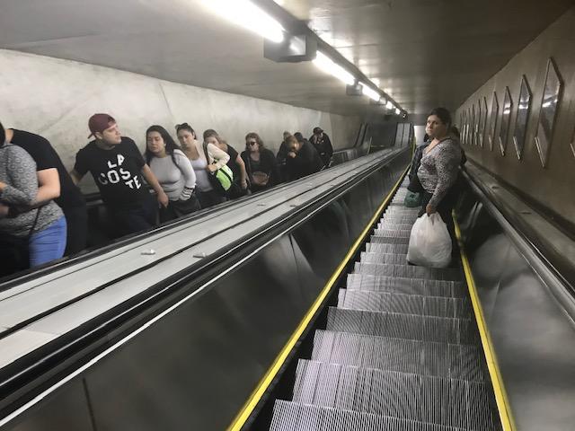 """""""Longo Túnel no Fim da Luz"""" , Justino, fotografia digital, 2019."""