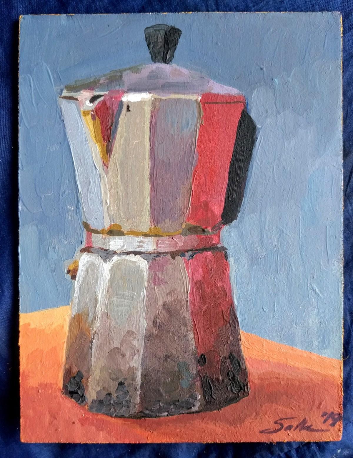 8 - Paintings - Un estudio en color