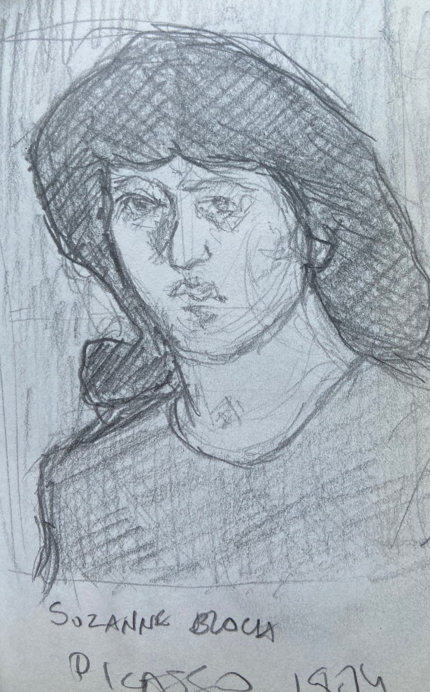Pablo Picasso, MASP,Justino, lápis nº3, 2016.