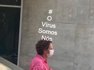#OVírusSomosNós – Em São Paulo, 18/03/20.