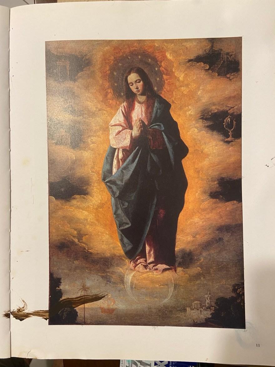 Uma Nossa Senhora de Francisco Zurbarán, o grande mestre espanhol