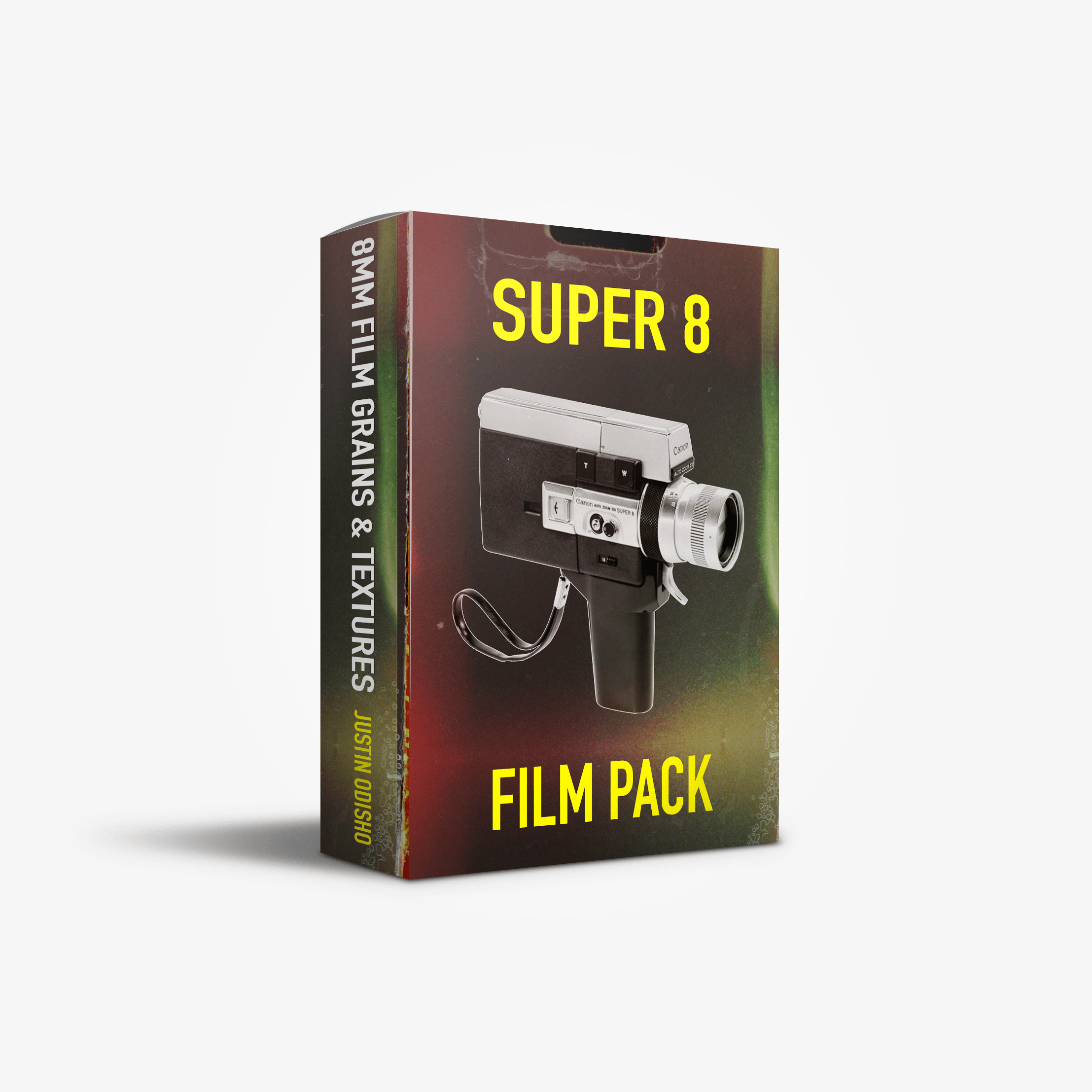 Justin Odisho Super 8 Film Overlays Pack