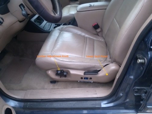 small resolution of remove the lower seat panel