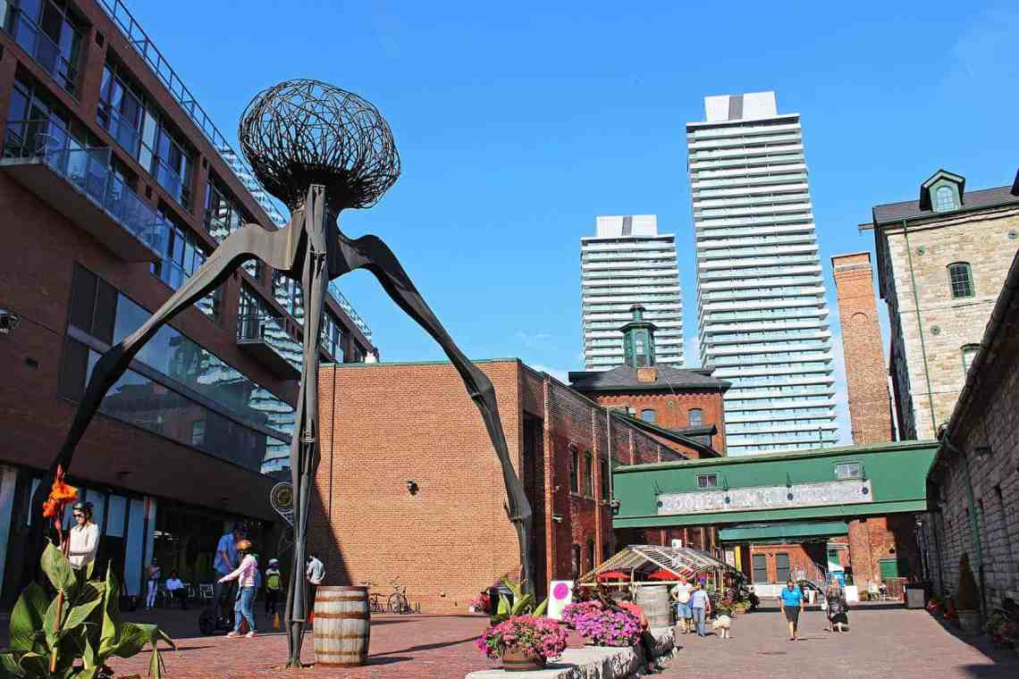 Distillery District Toronto