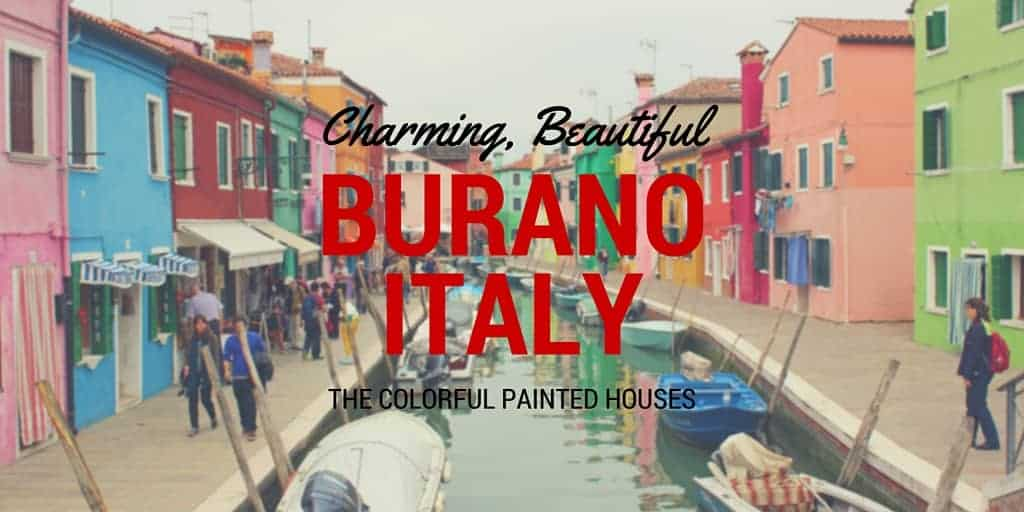 Colorful Houses of Burano Italy  Justin Plus Lauren