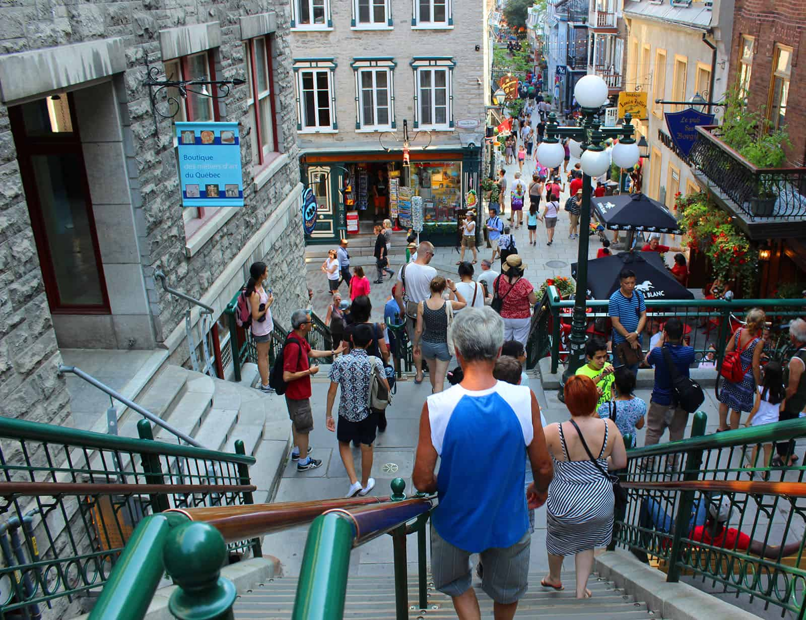 Staircases of Quebec City