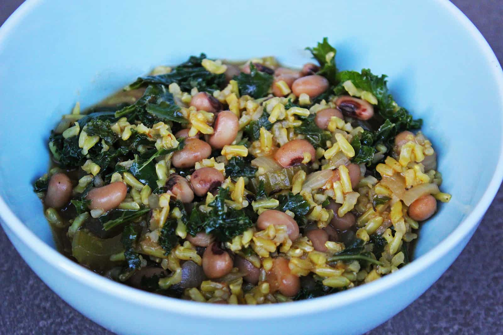 Vegan Caribbean Beans and Rice Recipe