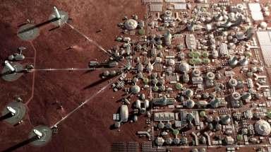Martian settlement | SpaceX