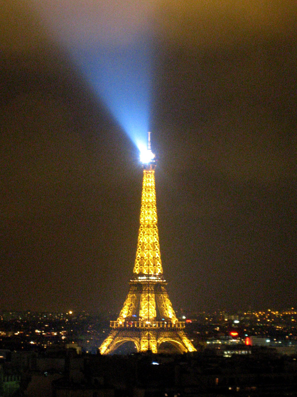 El far de la torre Eiffel, París.