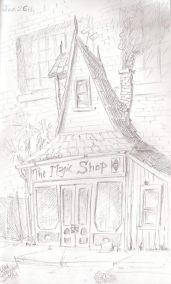 magic shop illustration