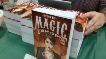 A stack of The Magic Shop novels