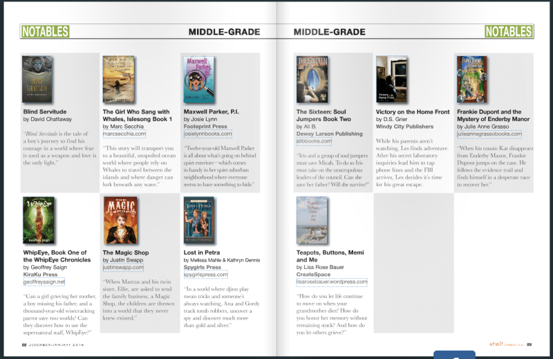 TMS Notable Middle Grade