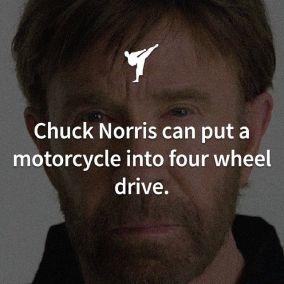 chuck 4 wheel drive