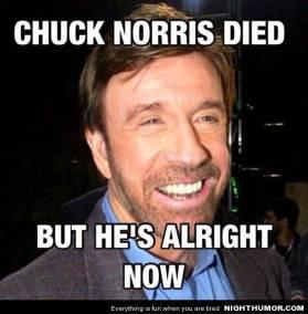 chuck died
