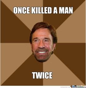 norris killed twice