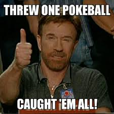 one pokeball