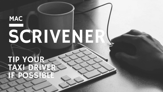 Scrivener Keyboard Shortcuts for Mac