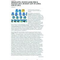 Melegatti, le novità su «Pubblicità Italia»