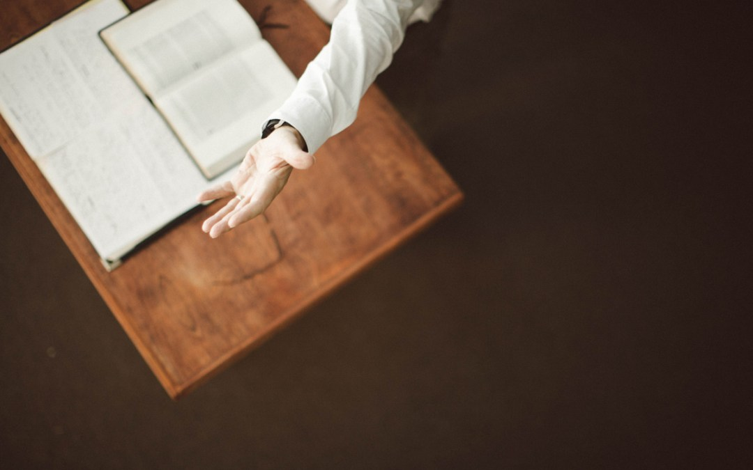 Confession…Preaching is Stressful