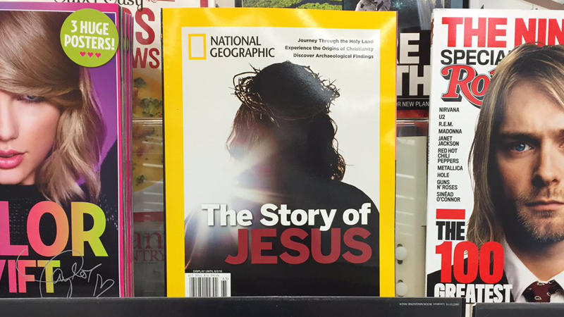 Pastor's Kids Lands Photo of Jesus on Cover of National Geographic Magazine