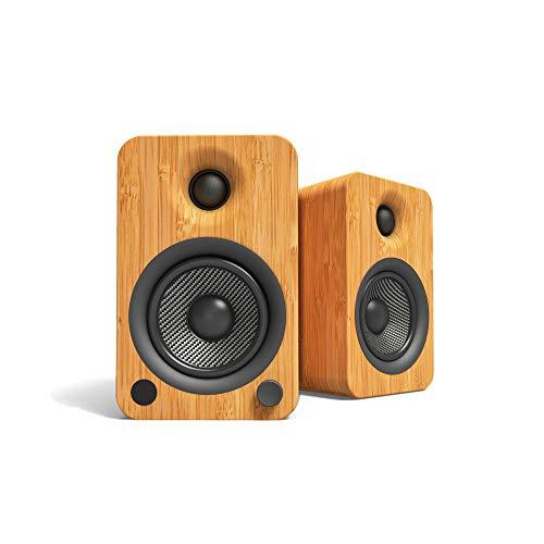 Kanto YU4 Bamboo Speakers