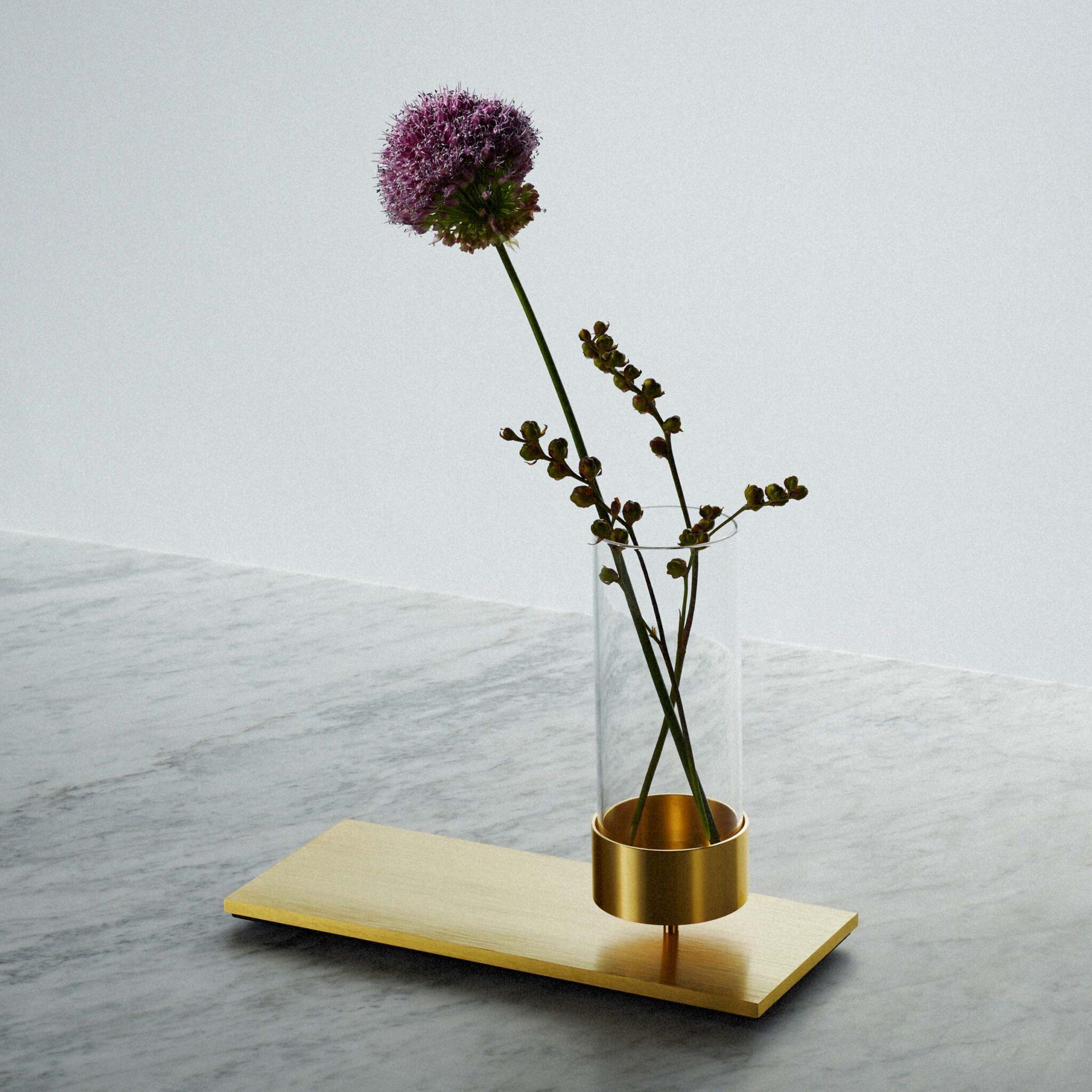 Buster + Punch Brass Vase