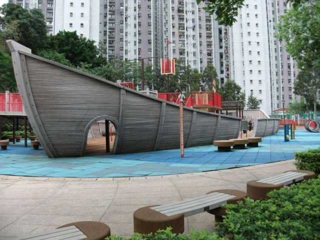 eco theme park playground by Justin Tsui
