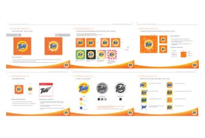 Tide Brand Guide Book – from brand identity to holistic communication