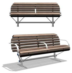 Knight Bench – Public Furniture Design
