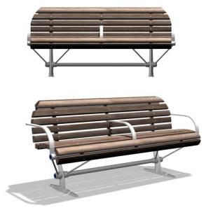 Knight Bench – Public Furniture Design