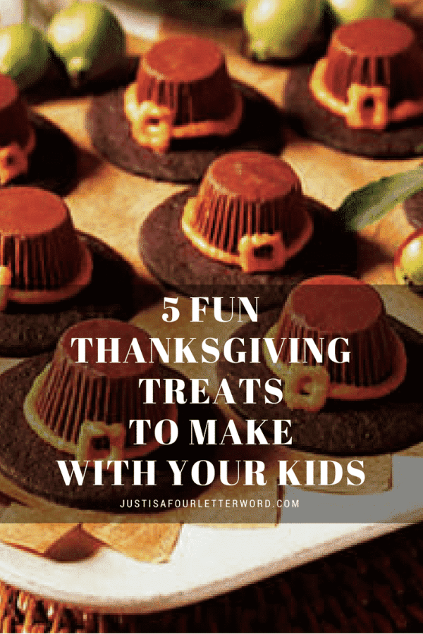 Fun and easy Thanksgiving treats to make with the kids. Great for family get togethers, class parties or holiday snacks!