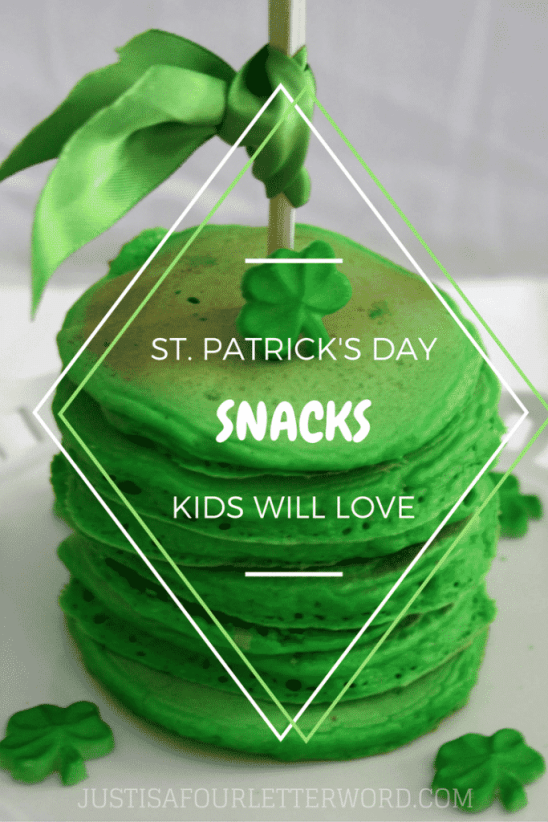 Easy St. patricks day snacks that kids will love for after school or a St. Patrick's Day party!