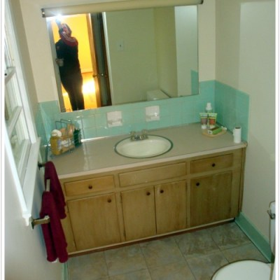 Bathroom Makeover for less than $100