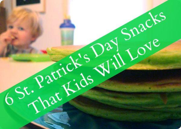 st patrick's day snacks