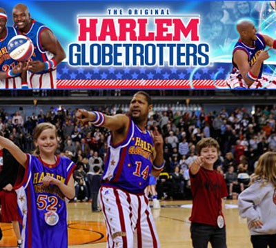 Harlem Globetrotters in Raleigh this Friday!