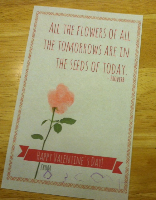 It is a picture of Superb Printable Valentine Card for Teacher
