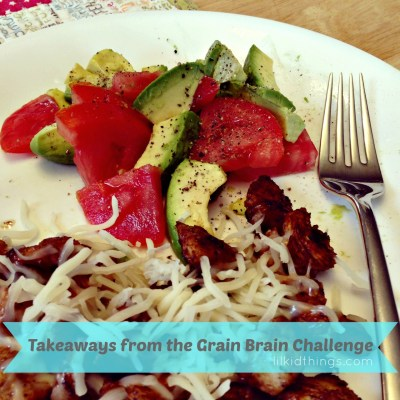 The Grain Brain Challenge {my results}