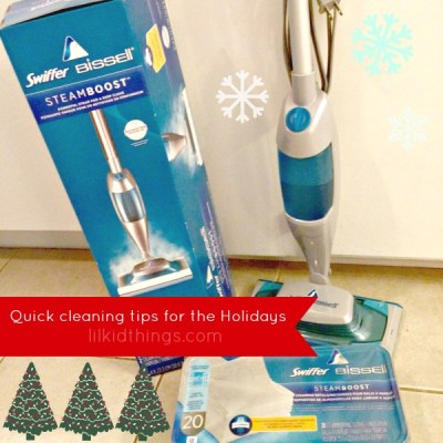 Quick Holiday cleaning tips to keep you out of the kitchen this Christmas