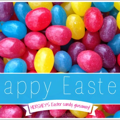 Happy Easter from the HERSHEY'S #BunnyTrail {giveaway}!
