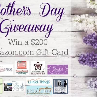 Treat yourself for Mother's Day {giveaway}