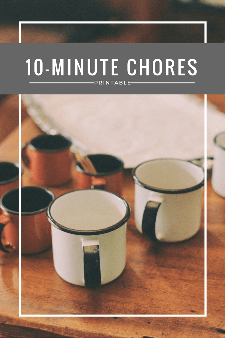Household chores you can do in 10 minutes for a cleaner, more clutter-free home