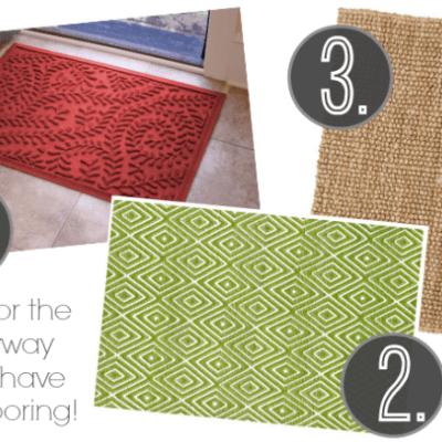 Choosing the Right Entryway Rug