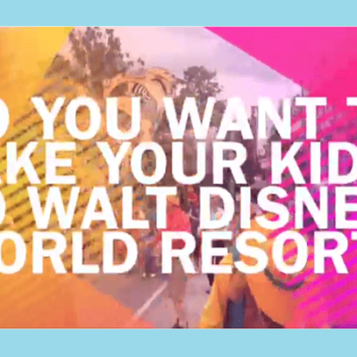 Disney Parks with young kids: what to bring
