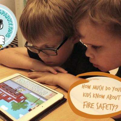 Do your kids know where to go in case of fire?
